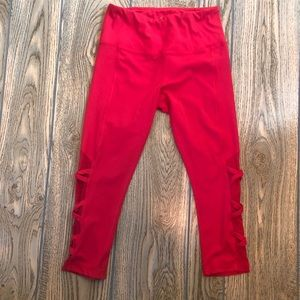 💚Yogalicious cropped pink leggings